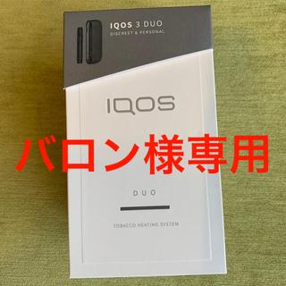 iQOS3DUO マットブラック(タバコグッズ)