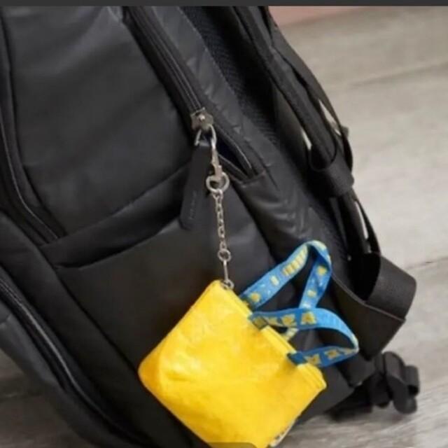IKEA(イケア)のIKEA イケア  イエローミニバッグ♪ クノーリグ   新品未使用  黄色1個 レディースのバッグ(エコバッグ)の商品写真