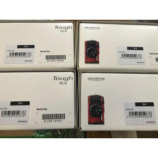 オリンパス(OLYMPUS)のオリンパス デジタルカメラ TG-6 黒 4台(コンパクトデジタルカメラ)