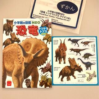 マクドナルド - ハッピーセット 図鑑 恐竜 マクドナルド