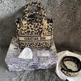 ディオール(Dior)のLADY D-LITE ミディアムバッグ 超美品(ハンドバッグ)