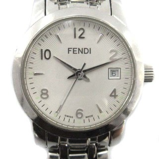 フェンディ(FENDI)のフェンディ クラシコ orologi 腕時計 クオーツ シルバー色 2100L(その他)