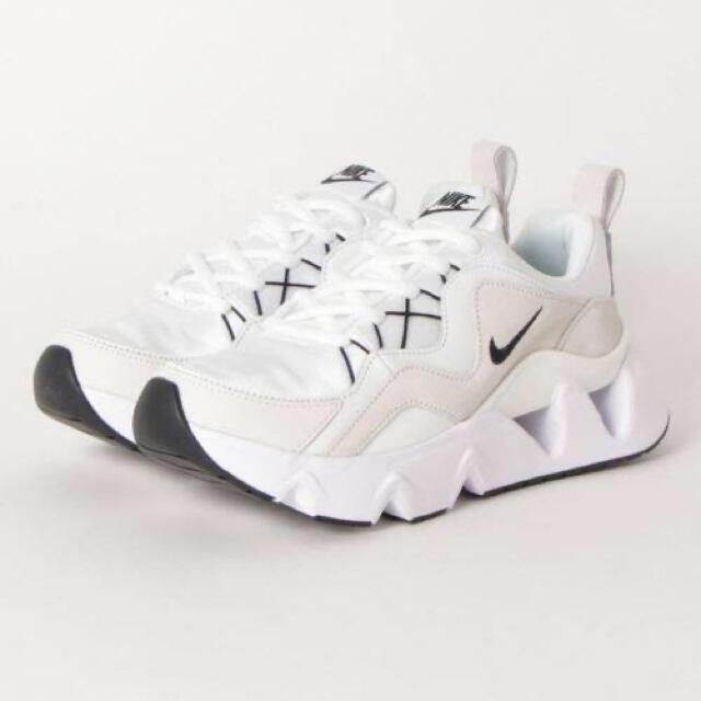 NIKE(ナイキ)のNIKE ryz365 白 ホワイト 編み上げ 25cm 24.5cm レディースの靴/シューズ(スニーカー)の商品写真