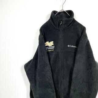 コロンビア(Columbia)のメンズサイズSコロンビアフリースジャケット秋冬に便利ユニセックス古着登山キャンプ(ブルゾン)
