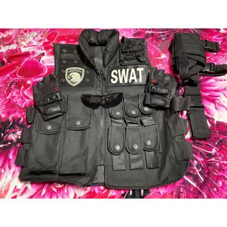 SWAT コスプレ 3点セット(衣装一式)