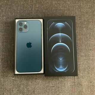 iPhone - iPhone 12 Pro 128GB  SIMフリー パシフィックブルー 美品