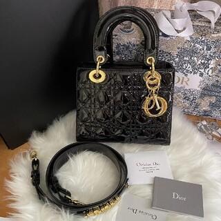 Christian Dior - 超美品LADYDIORレディディオール斜めがけショルダー