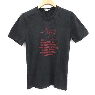 ディオールオム(DIOR HOMME)のディオールオム エディ期 05AW Tシャツ カットソー 半袖 XXS 黒(Tシャツ/カットソー(半袖/袖なし))
