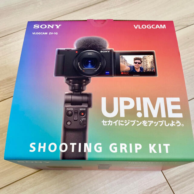 SONY(ソニー)のSONY VLOGCAM ZV-1G  新品未使用 長期・全損保証付き スマホ/家電/カメラのカメラ(コンパクトデジタルカメラ)の商品写真