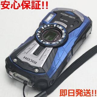 リコー(RICOH)の美品 WG-40w ブルー (コンパクトデジタルカメラ)
