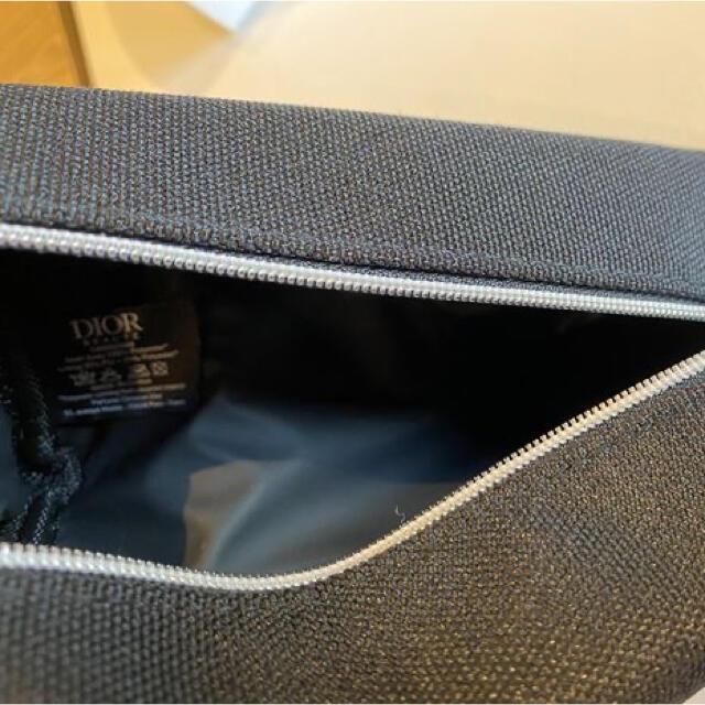 Dior(ディオール)のDior ノベルティ ブラック ポーチ レディースのファッション小物(ポーチ)の商品写真