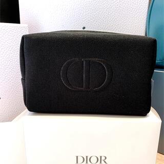 Dior - Dior ノベルティ ブラック ポーチ
