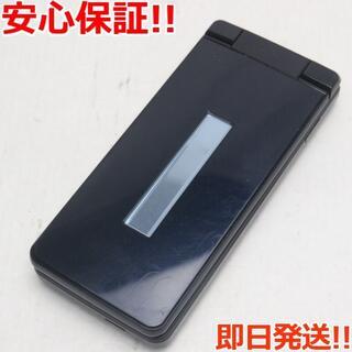 シャープ(SHARP)の美品 SH-02L ブラック  SIMロック解除済み(携帯電話本体)