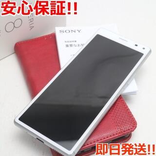 ソニー(SONY)の新品同様 SIMフリー Xperia 8 Lite ホワイト (スマートフォン本体)