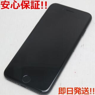 アイフォーン(iPhone)の超美品 SIMフリー iPhone7 32GB ブラック (スマートフォン本体)