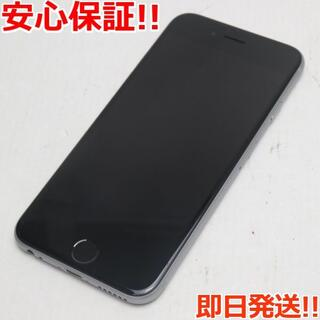 アイフォーン(iPhone)の新品同様 SIMフリー iPhone6S 32GB スペースグレイ (スマートフォン本体)