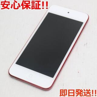 アイポッド(iPod)の新品同様 iPod touch 第6世代 128GB レッド (ポータブルプレーヤー)