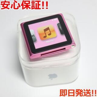 アイポッド(iPod)の新品 iPOD nano 第6世代 8GB ピンク (ポータブルプレーヤー)
