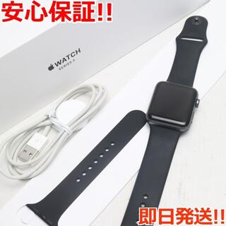 アップル(Apple)の美品 Apple Watch series3 42mm GPS(その他)
