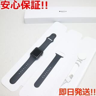 アップル(Apple)の超美品 Apple Watch series3 38mm GPS(その他)