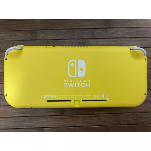 Nintendo Switch(ニンテンドースイッチ)のNintendo Switch Lite イエロー 中古 本体 エンタメ/ホビーのゲームソフト/ゲーム機本体(携帯用ゲーム機本体)の商品写真