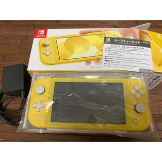 Nintendo Switch - Nintendo Switch Lite イエロー 中古 本体