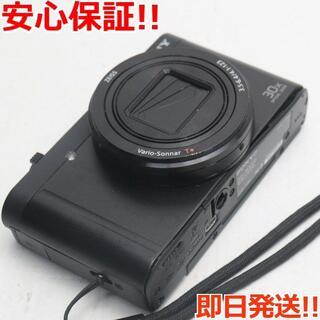 ソニー(SONY)の美品 DSC-WX500 ブラック (コンパクトデジタルカメラ)