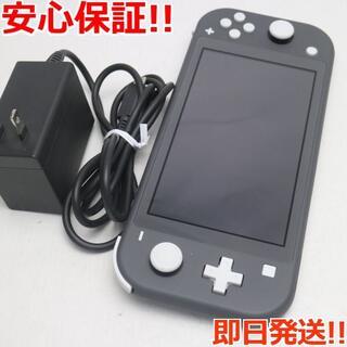 ニンテンドースイッチ(Nintendo Switch)の新品同様 Nintendo Switch Lite グレー (携帯用ゲーム機本体)
