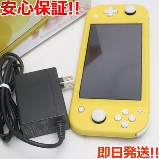 ニンテンドースイッチ(Nintendo Switch)の新品同様 Nintendo Switch Lite イエロー (携帯用ゲーム機本体)