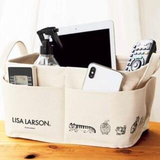リサラーソン(Lisa Larson)のリサラーソン 外ポケット付き 収納ボックス InRed付録(小物入れ)