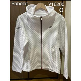 Babolat - バボラ カラープレイライン 白 ライトジャケット O