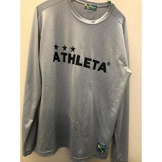 アスレタ(ATHLETA)のアスレタ 長袖プラシャツlサイズ(ウェア)