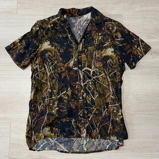 ランバン(LANVIN)の正規 LANVIN ランバン カモフラージュ シャツ U104(シャツ)