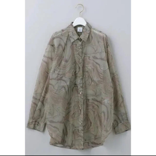 BEAUTY&YOUTH UNITED ARROWS - marble shirt