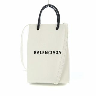 Balenciaga - バレンシアガ ショッピング フォンホルダー ショルダーバッグ ハンドバッグ