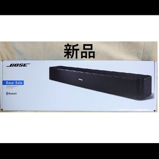 BOSE - 新品 BOSE Solo TV Speaker ブラック  正規品