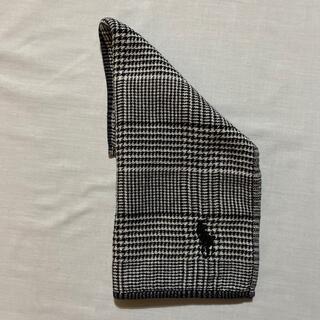 ポロラルフローレン(POLO RALPH LAUREN)のラルフローレン ガーゼタオルハンカチ 中古品 #1048(ハンカチ/ポケットチーフ)