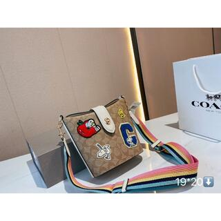 COACH - 新品 COACH x スヌーピー ショルダーバッグ