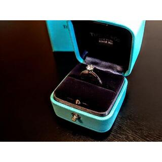 Tiffany & Co. - Tiffany & Co. ダイヤモンド リング 0.32 ct