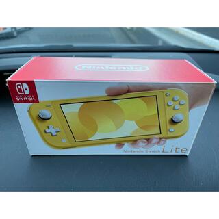 Nintendo Switch - 新品未使用品 Nintendo Switch Lite イエロー