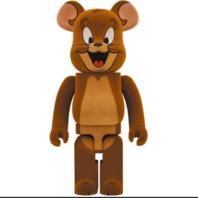 MEDICOM TOY(メディコムトイ)のBE@RBRICK  JERRY フロッキー Ver. 1000% エンタメ/ホビーのおもちゃ/ぬいぐるみ(キャラクターグッズ)の商品写真