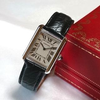 Cartier - ☆美品☆ OH済 カルティエ タンクソロ レディース SM クオーツ / 腕時計