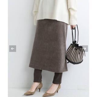 IENA - 【新品タグ付】IENA 《追加2》コーデュロイジャージスカート サイズ36