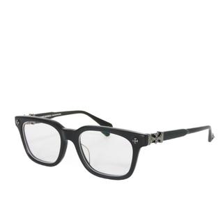 クロムハーツ(Chrome Hearts)のクロムハーツ COXUCKER ウェリントン ブラック 黒縁 艶なし CHクロス(サングラス/メガネ)