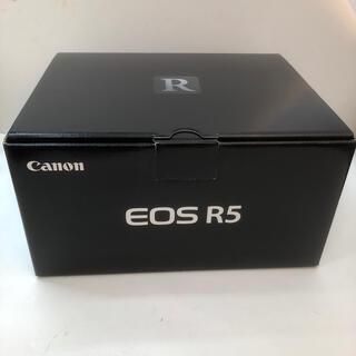 Canon - EOS R5 ボディ ショット数僅か
