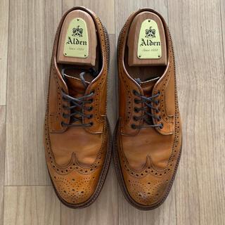Alden - alden N6510 ロングウィングチップ 25.5cm