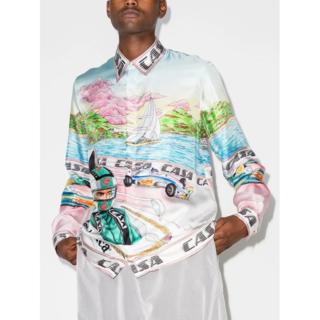 Casablanca メンズ シャツ ブラウス カラーシャツ トップス