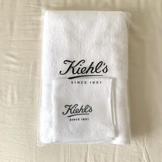キールズ(Kiehl's)の最後値下げ新品未使用Kiehlsハンドタオル ノベルティバスタオル タオルセット(タオル/バス用品)