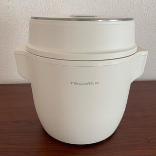 レコルト コンパクト ライスクッカー RCR-1(W) 炊飯器