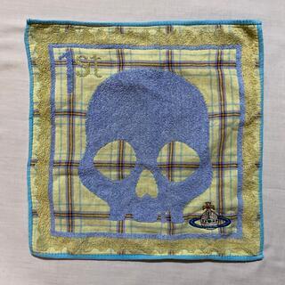 ヴィヴィアンウエストウッド(Vivienne Westwood)のヴィヴィアンウエストウッド タオルハンカチ 中古品 #1049(ハンカチ)